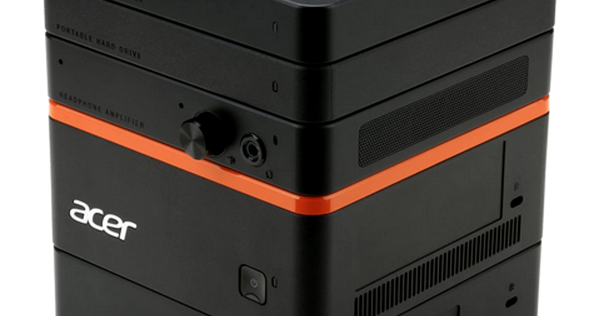 IFA 2015: Bauklötze staunen über Acers modularen PC Revo Build (Hands-On-Video)