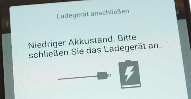 Akku sparen bei Android