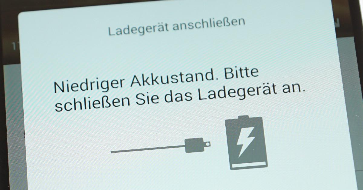Android: Akku sparen ohne Funktionen zu beeinträchtigen