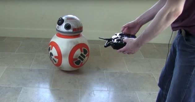 BB-8 Eigenbau-Droide