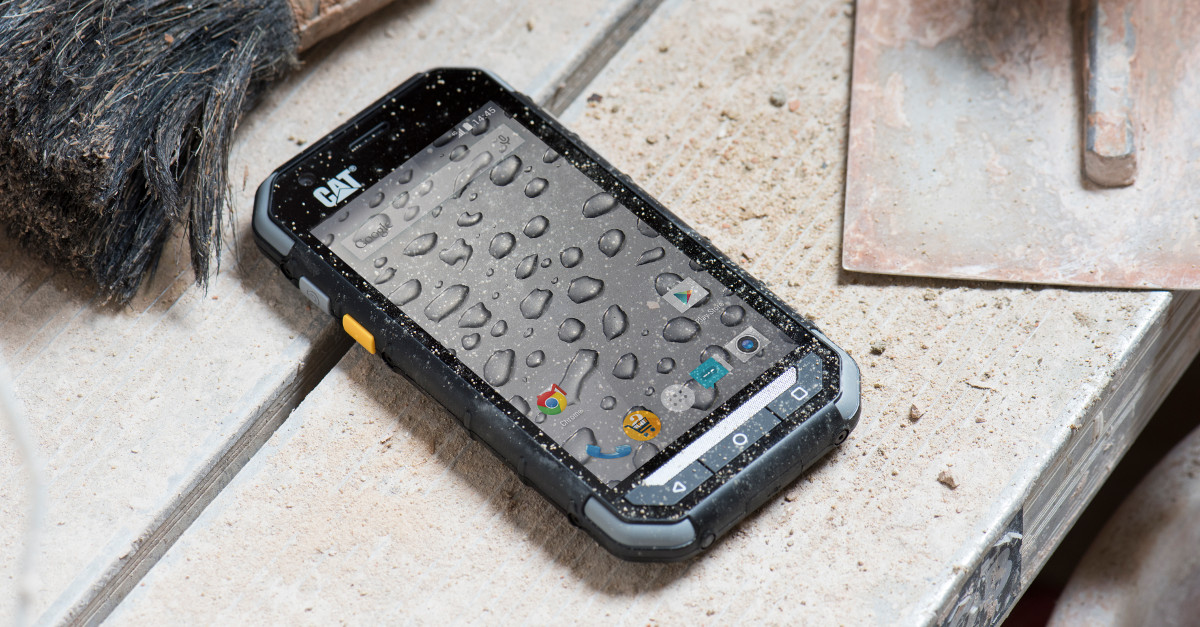 IFA 2015: Langlebiges Ruggedized-Smartphone Cat S30 mit Lollipop