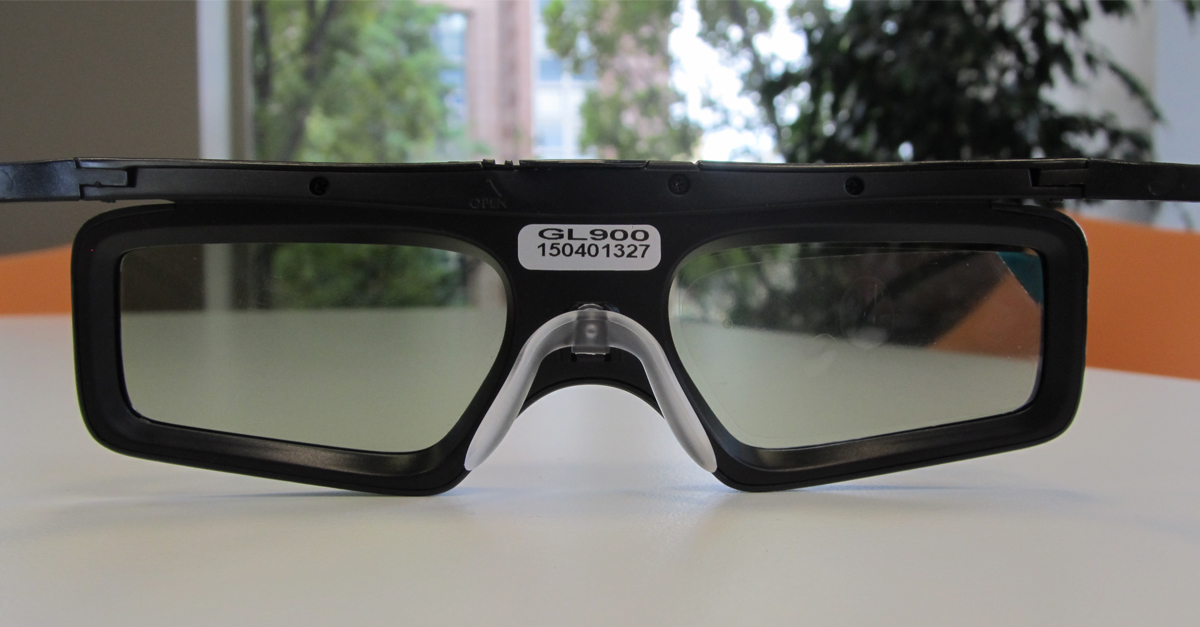 Kurztest: Celexon DLP 3D Brille Shutterbrille – Universal Brille für alle 3D DLP Beamer