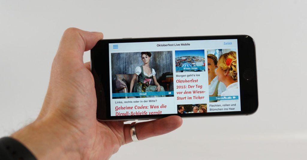 Die besten kostenfreien Apps für das Münchner Oktoberfest Wiesn