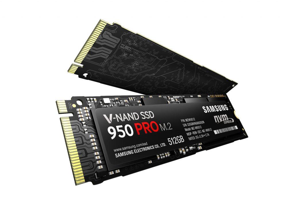 Samsung stellt SSD 950 PRO mit PCIe 3.0 Anbindung offiziell vor