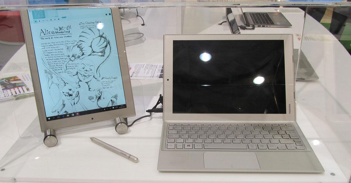 IFA 2015: Toshiba zeigt Prototyp vom Dynabook