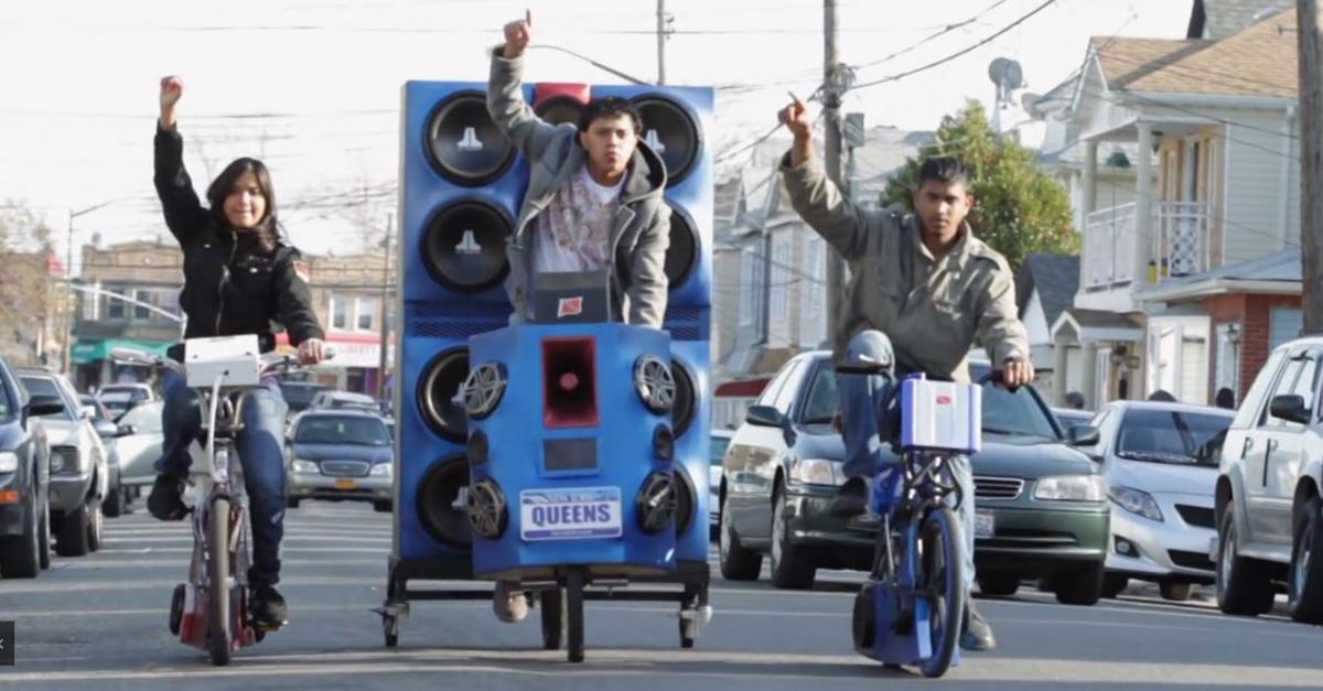 Pimp my Bicycle: Skurrile Sound-Systeme auf Fahrrädern
