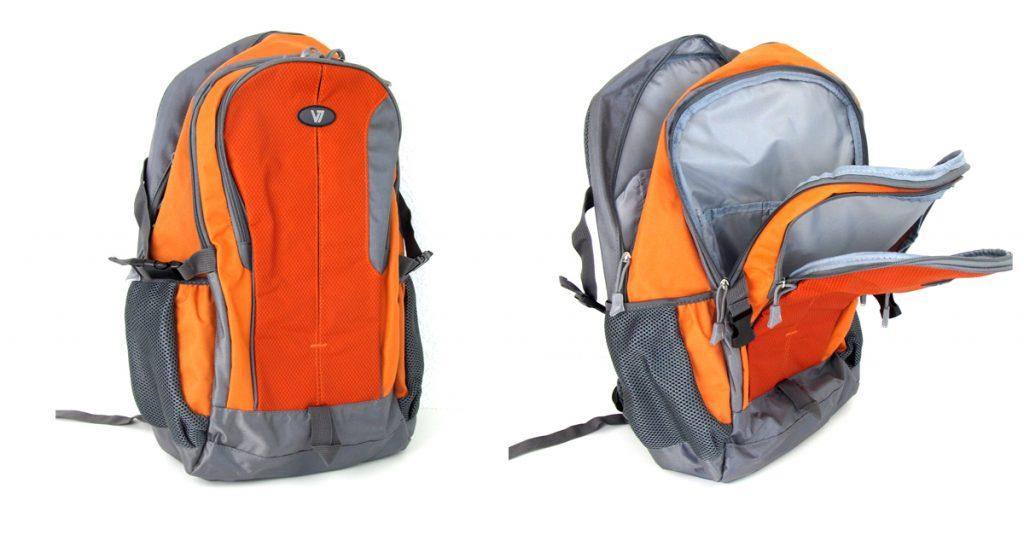 Kurztest: V7 Odyssey 15,6″ – Leichter Rucksack mit viel Stauraum exklusiv bei notebooksbilliger