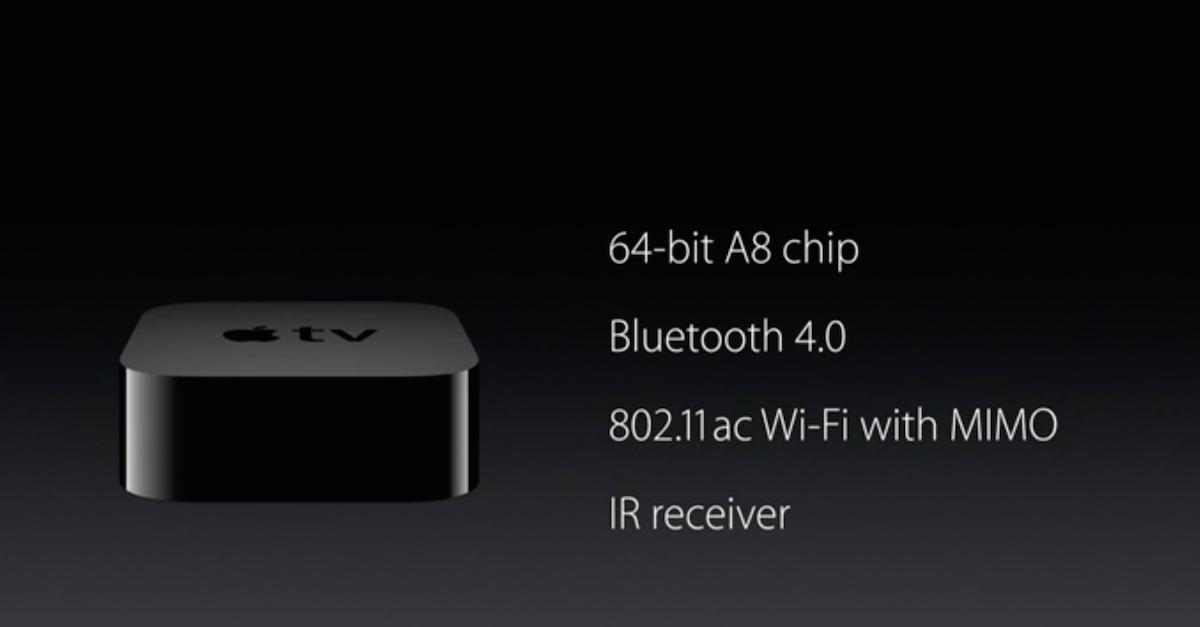 Keynote: Apple TV 4 – Das neue Apple TV mit Siri, Touch und Apps