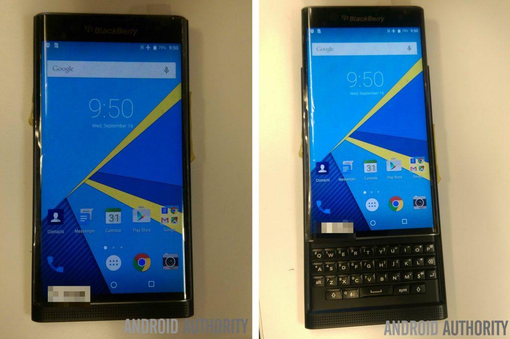 Blackberrys Android-Slider zeigt sich auf weiteren Bildern
