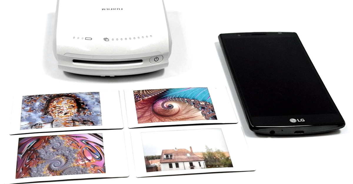 Test Fujifilm Instax Share SP-1: Polaroid meets mobilen Drucker