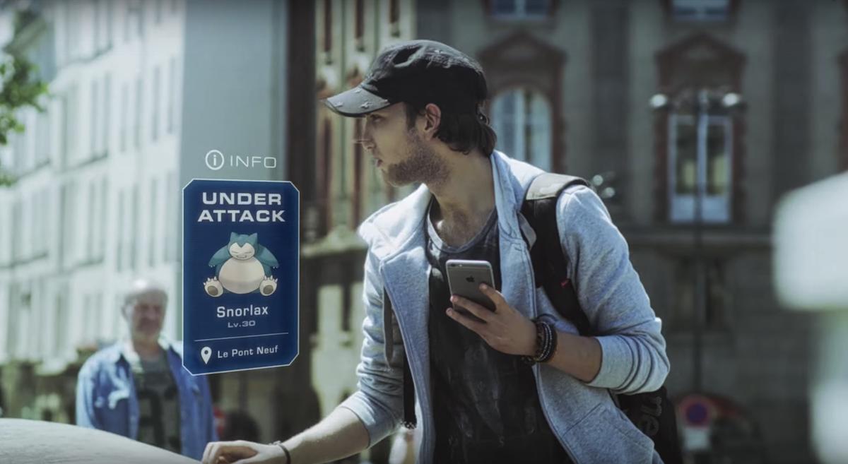Pokémon Go verbindet Videospiel und Realität