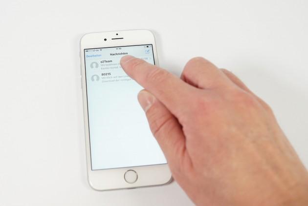 3D Touch Konversation