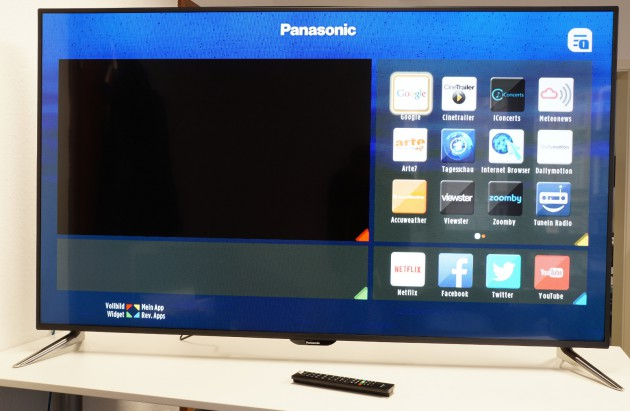65 Zoll TV Test Panasonic Smart-TV