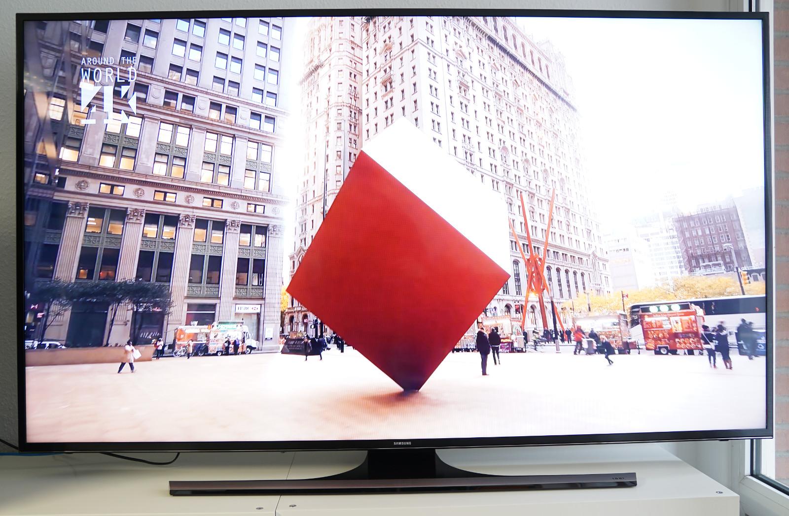 test 65 zoll einstiegs tvs 4k ultra hd gegen full hd. Black Bedroom Furniture Sets. Home Design Ideas