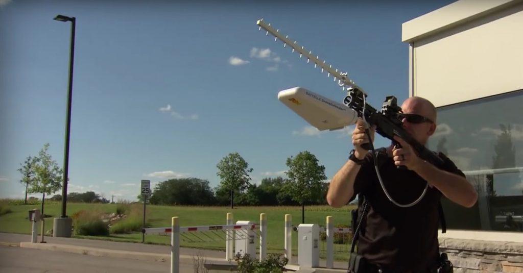 Strahlenkanone gegen Drohnen: Battelle Drone Defender