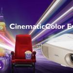 BenQ stellt Beamer mit CinematicColor Technologie vor