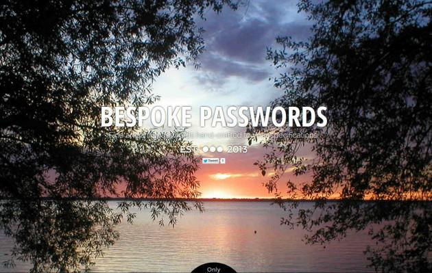 Bespoke Passwords