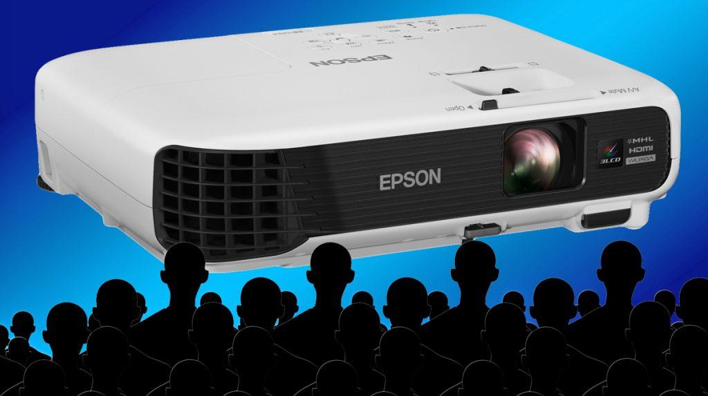 Epson EB-U04: Vielseitiger Full HD-Projektor mit 3LCD- und Split-Screen-Technologie