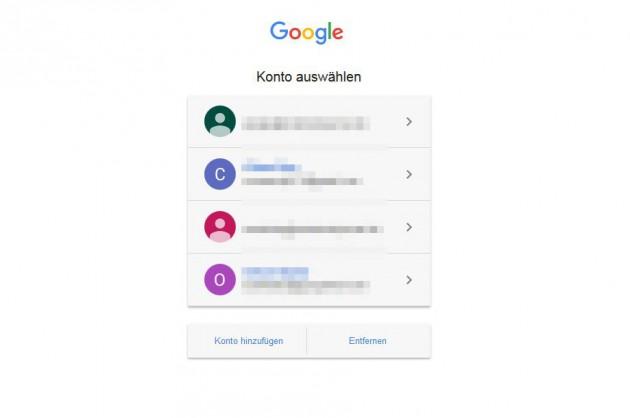 Google Sprachsuche loeschen Google einloggen