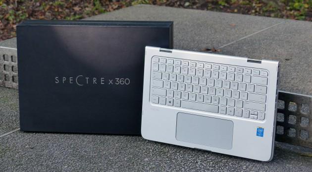 HP Spectre Pro X360 TT Platte 1