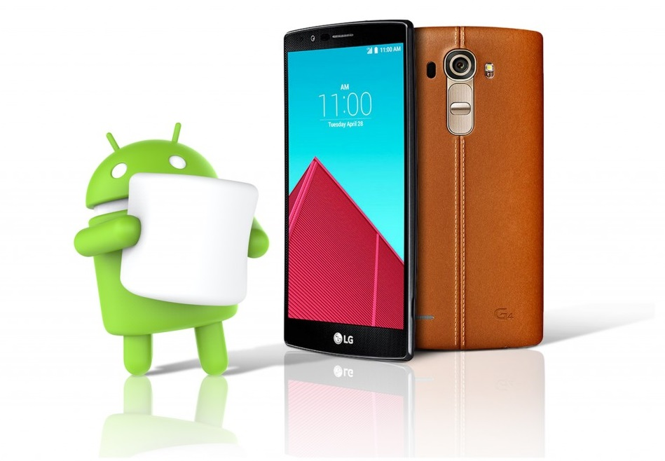 LG G4 erhält bereits nächste Woche Android 6.0 Marshmallow