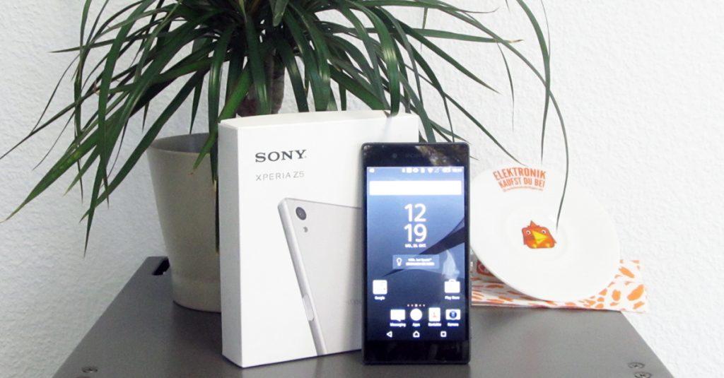Sony Xperia Z5: Wasserdichtes Smartphone mit 23 MPixel Kamera und Fingerabdruckscanner