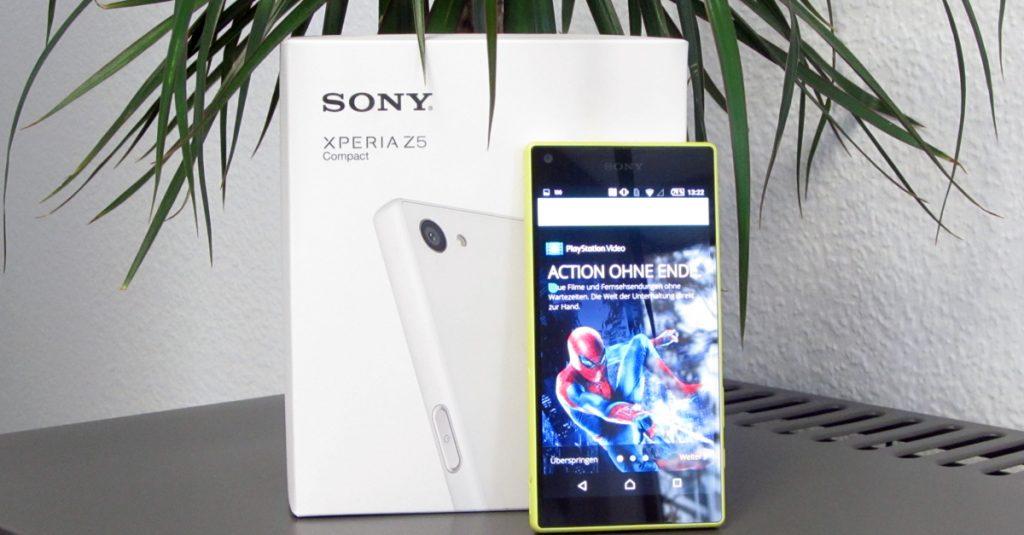 Kleines Smartphone für die Hosentasche: Sony Xperia Z5 Compact im Test