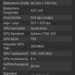 Angaben zur Grafik / Display