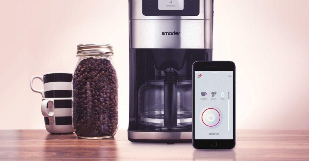 Kaffee-Maschine mit W-Lan und App: Smarter Coffee Machine