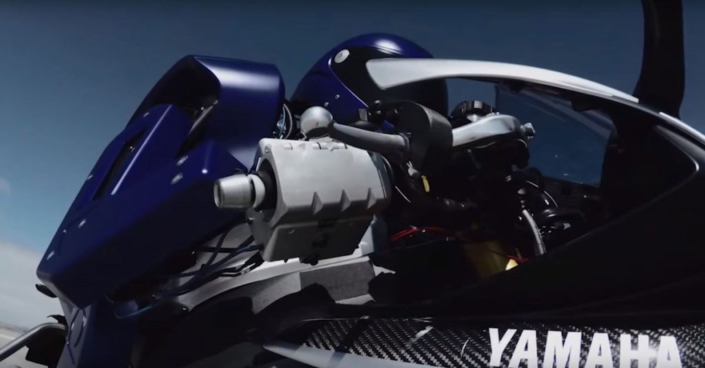 Yamaha Motobot: Roboter fordert Motorrad-Champion heraus