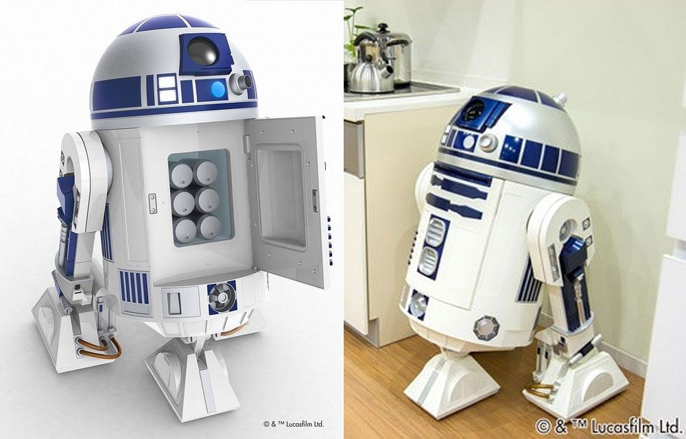 Der ultimative R2-D2-Kühlschrank für Star-Wars-Fans