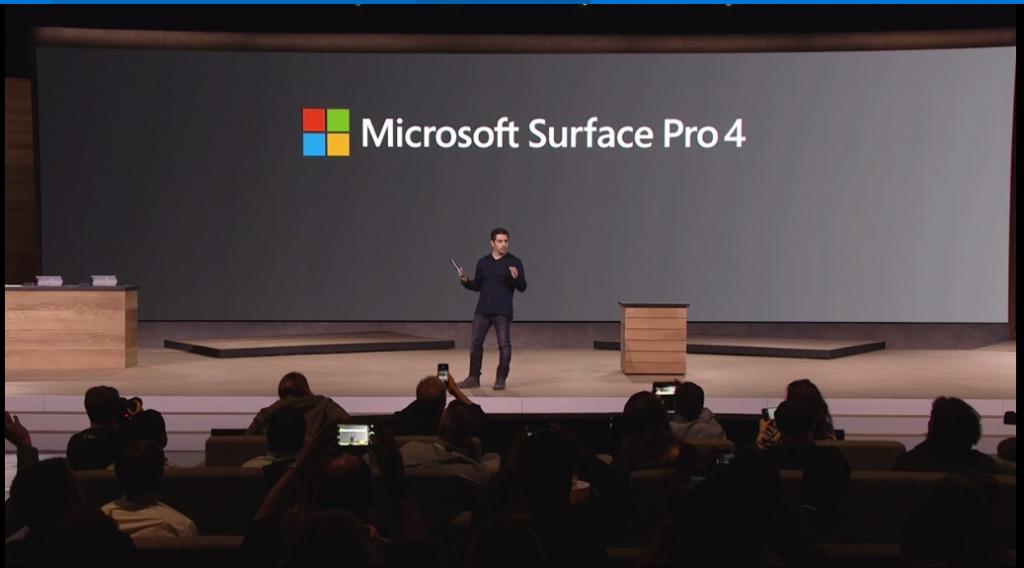 Microsoft Surface Pro 4 vorgestellt