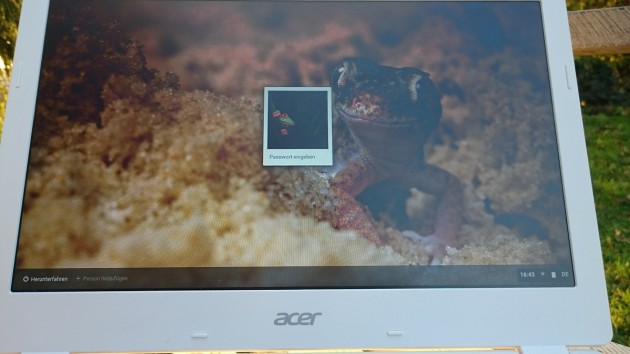 Acer-Chromebook-Anwender-Display
