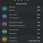 AnTuTu 571 Benchmark Medion X5020