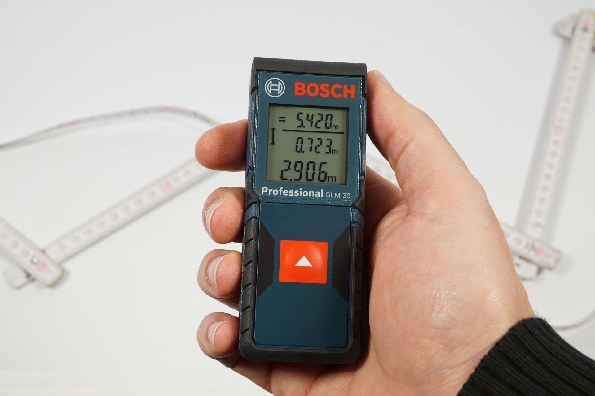 Bosch Entfernungsmesser Glm 100 C : Günstige laser entfernungsmesser von bosch und flex im test