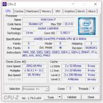 Angaben CPU