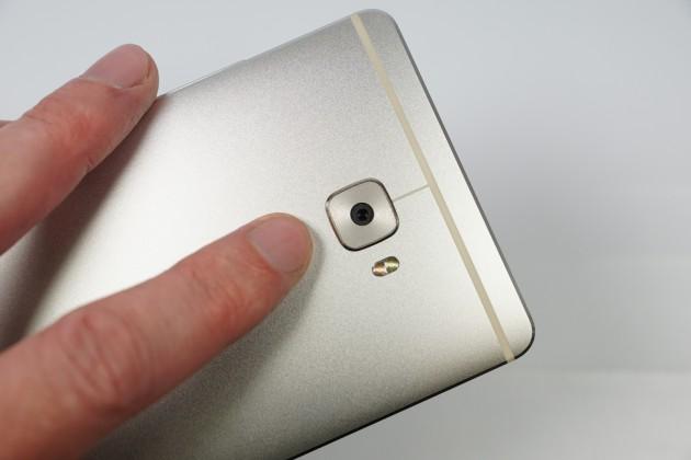 Huawei Mate S Fingerabdruckscanner