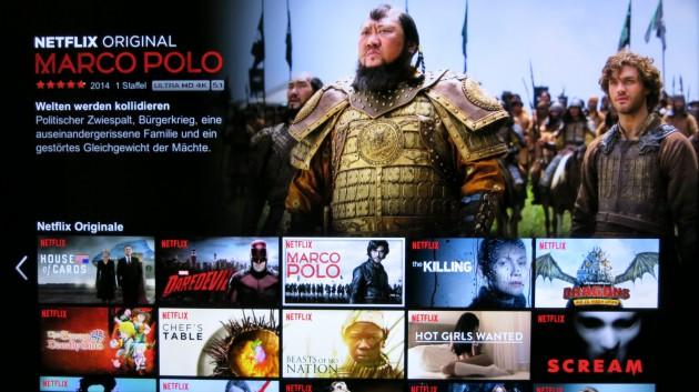 Netflix 4K-Video
