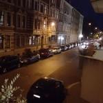 Nachtfotografie: Der Pro-Modus erlaubt RAW-Fotografie sowie eigene Einstellungen. Hier sind es ISO 400, das Ergebnis ist noch gut brauchbar.