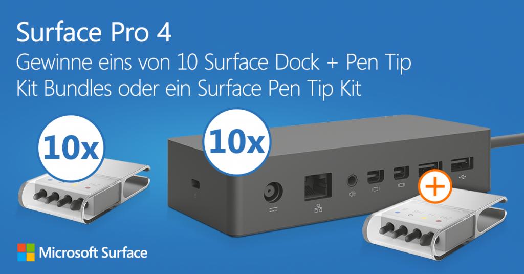"""""""Hallo Surface Pro 4!"""" Foto machen, posten, gewinnen!"""