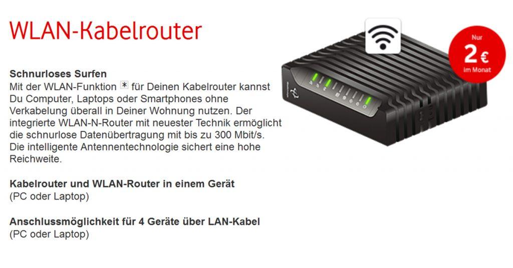 Sicherheitslücke bei WLAN-Routern von Kabel Deutschland