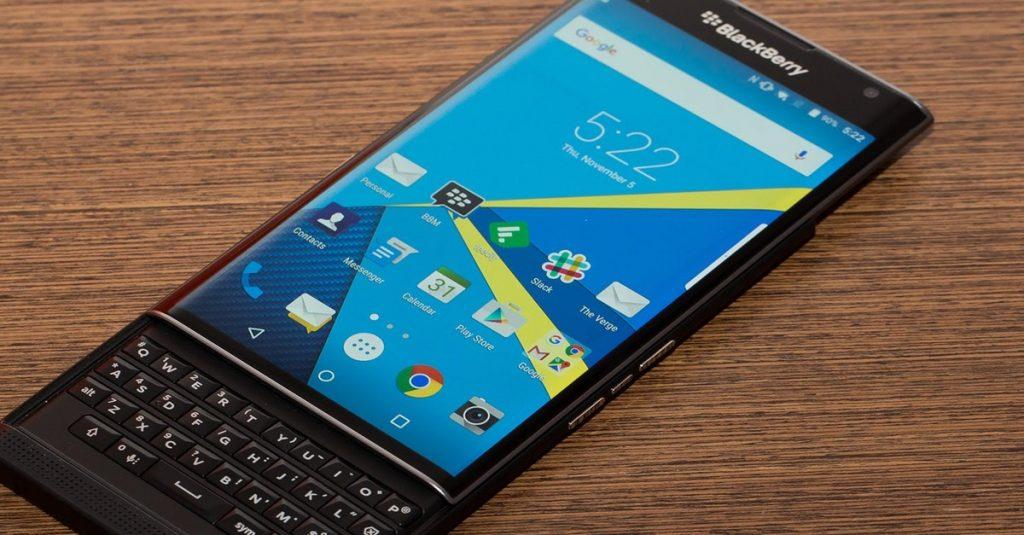 Blackberry-Chef: Eine Reihe von neuen Produkten in Planung