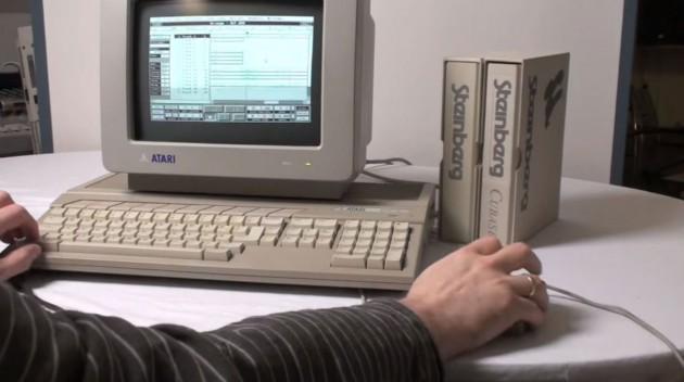 Cubase auf dem Atari ST.