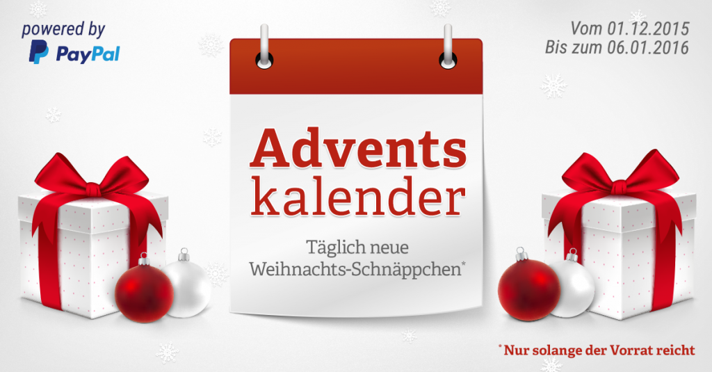 Fröhliche Weihnacht auch bei uns: Der notebooksbilliger.de Adventskalender