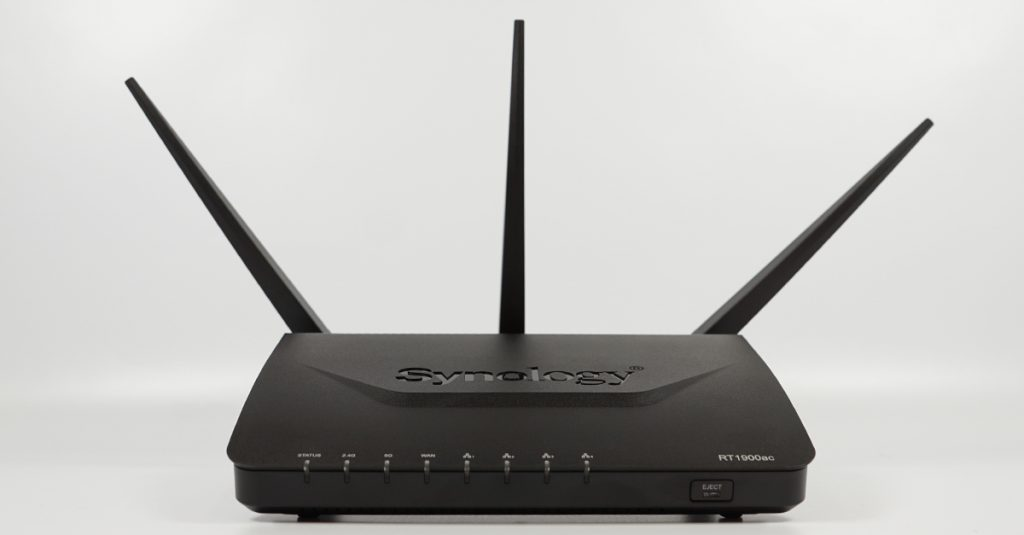 Test: WLAN-Router Synology RT1900ac