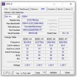 Angaben zum DDR4-Speicher