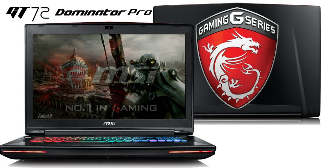 MSI GT72S-6QEG16SR421BW Dominator – Gaming Notebook mit Übertaktungspotential