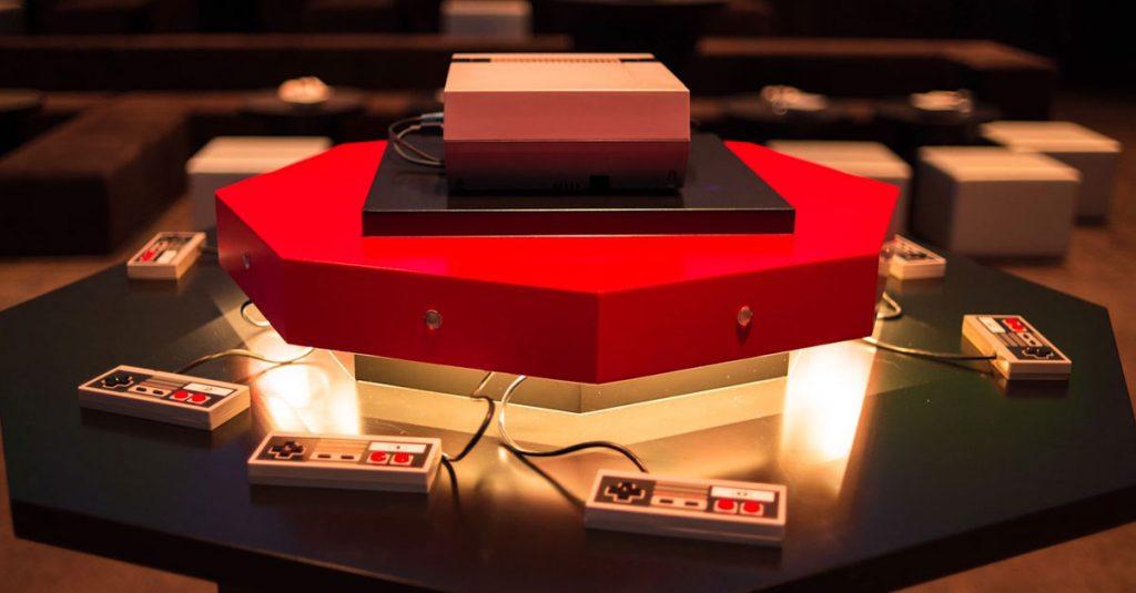 NES: Mega-Party für acht Spieler mit Mario in 360 Grad