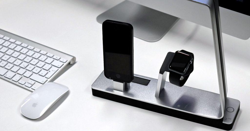 Test: MiTagg NuDock für iPhone und Apple Watch mit LED-Beleuchtung