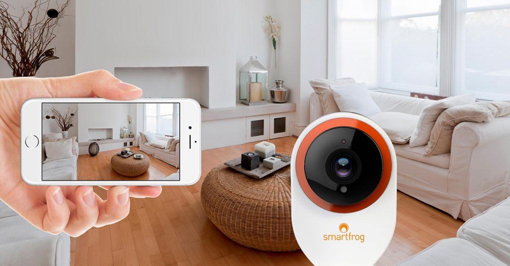 Test & Gewinnspiel: Überwachungskamera Smartfrog mit Plug-and-Play-Installation